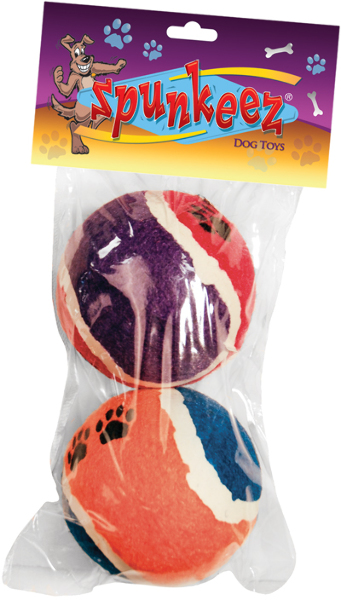 Spunkeez TENNIS BALLS Dog Toys [1266064]