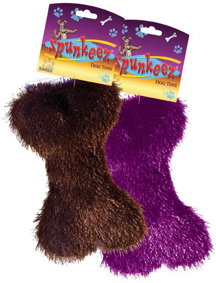 Spunkeez Fleece Bone Dog TOYS [1266069]