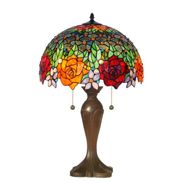Gift Dropship Outlet Tiffany Stained Glass Lamps and Panels