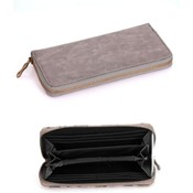 Gray Clutch Wallet