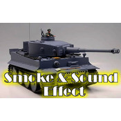 1/16 German Tiger Rc Battle Smoke &amp;amp; Sound Tank (Metal Gear/Track)