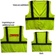 ANSI 2 Yellow Safety Vest