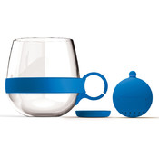 Tea Ball Mug-Blue
