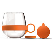 Tea Ball Mug-Orange