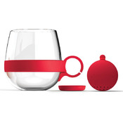Tea Ball Mug-Red