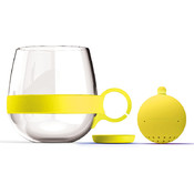Tea Ball Mug-Yellow