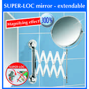 Super Loc&amp;reg; Extendable Bathroom Mirror