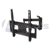 "Black Adj. Swivel/Tilt Wall Mount for 32""-47"""