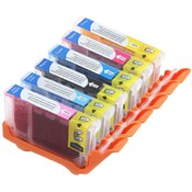 Compatible Canon CLI-8 Ink Cartridges: 6-Pack - 1 SET