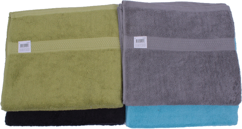 Assorted Dyed BATH TOWELs [1777086]