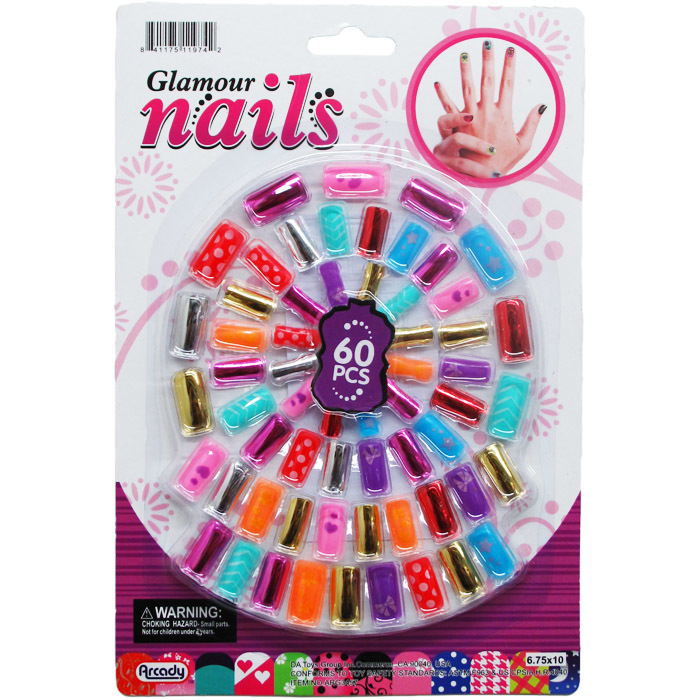 60-Piece Toy NAILS Play Set [2278337]