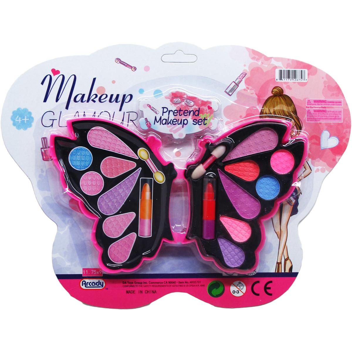''8.5'''' Pretend Makeup Set in Butterfly Shape [2330915]''