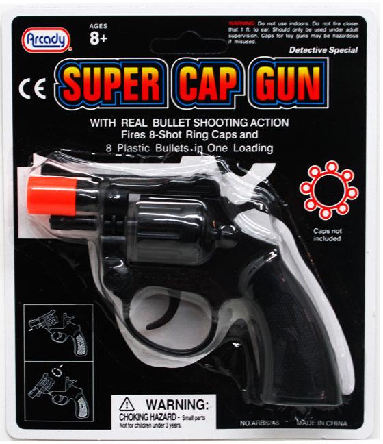 ''6'''' Toy Revolver Cap Gun Play Set [1930395]''