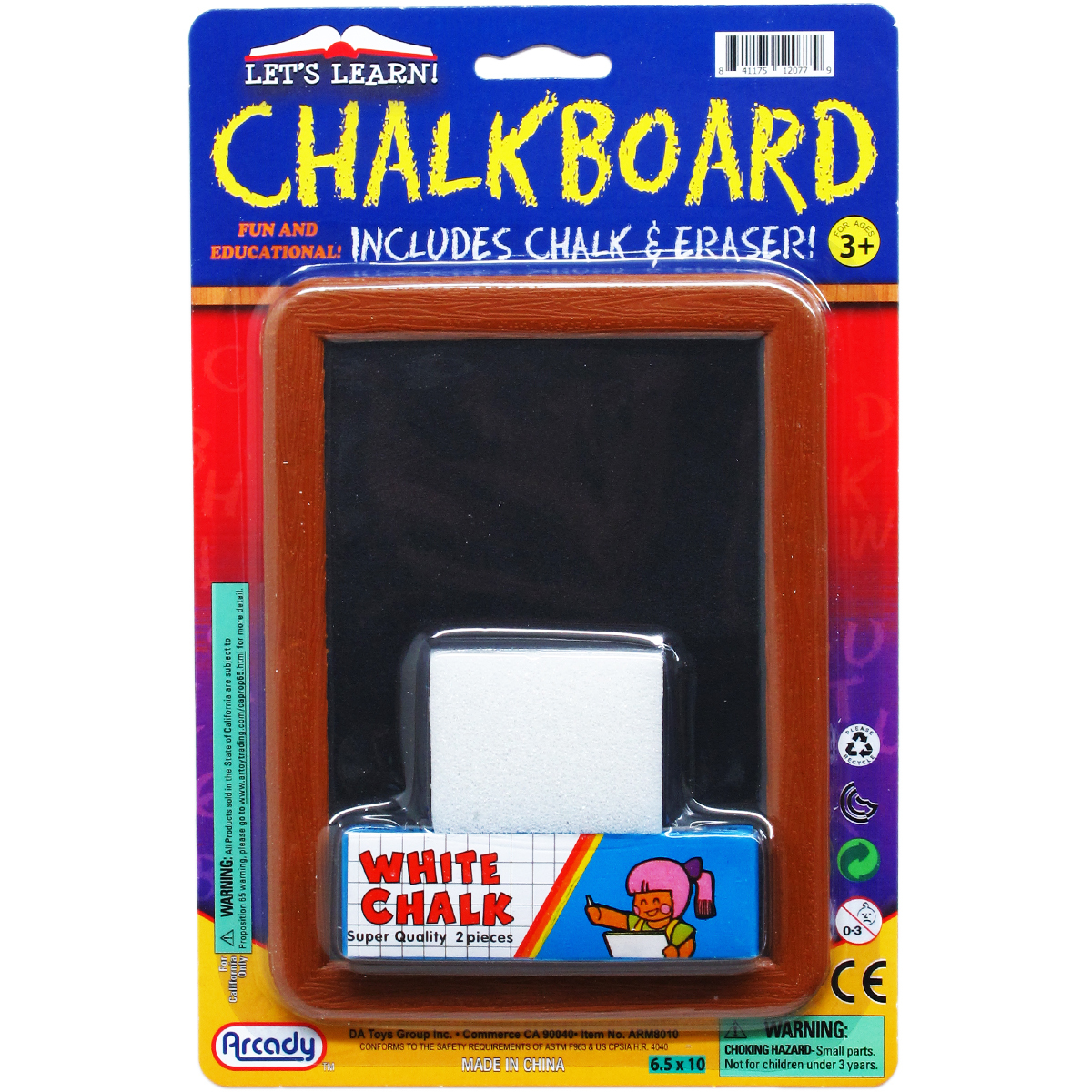 ''5.25''''x6.75'''' Blackboard Play Set [2330909]''