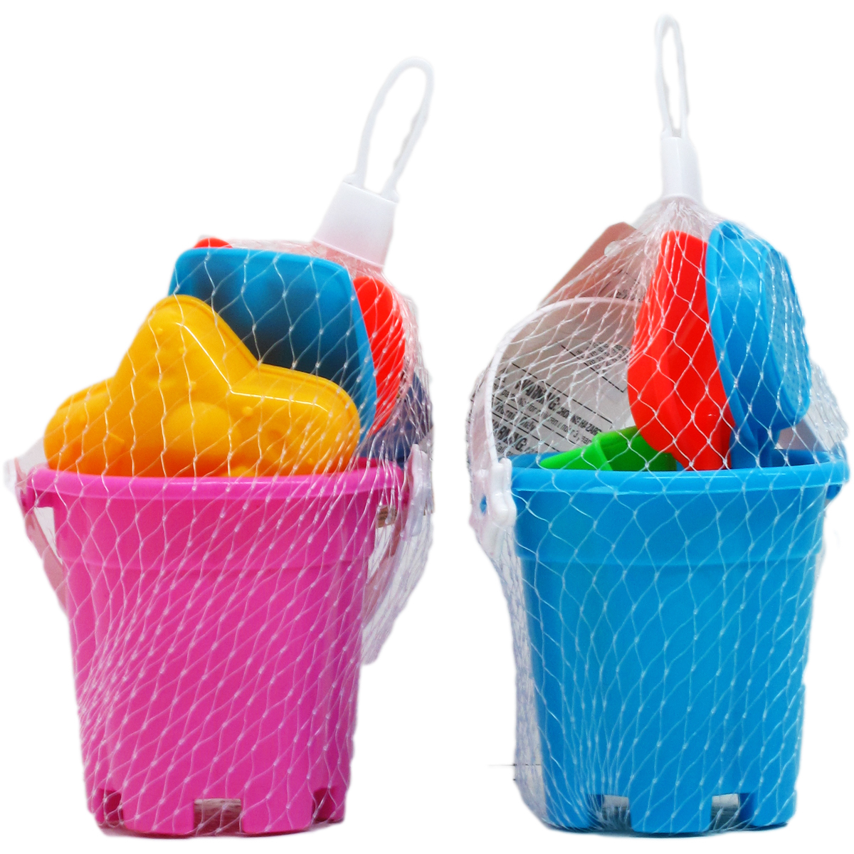 ''3.5'''' Assorted Color BEACH TOY Bucket Play Set [2285485]''