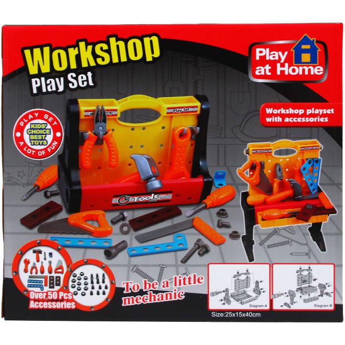 50 Piece Plus Workshop Tool Play Set [2340850]