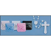 Cord Rosary with Case-Black