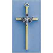 "4"" Brass Confirmation Cross"