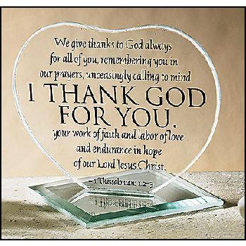 Wholesale I Thank God for You Heart Stand (SKU 260455 ...