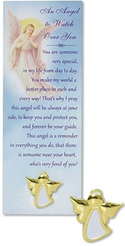 An Angel to WATCH Over You Lapel Pin with Bookmark [2003284]