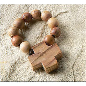 Olive Wood Rosary Ring
