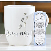 Journey Mug With Bookmark