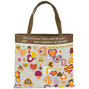 Love the Lord Your God Tote Bag