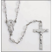 Clear Miraculous Rosary