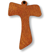 Wood Tau Cross