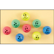 Smile Jesus Loves You! Bouncing Ball Assortment