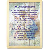Ten Commandments Prayer Puzzle