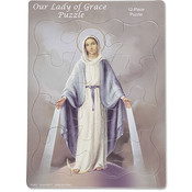 Our Lady of Grace Devotional Tray Puzzle