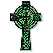 Celtic Cross Iron-on Applique