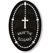 Pray the Rosary Iron-on Applique