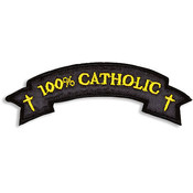 100% Catholic Iron-on Applique