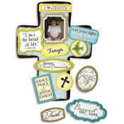 First Communion Cross with Magnet Set