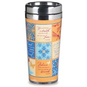 Patchwork Promises Travel Coffee Tumbler - 4/Pk