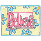 Believe Magic Sticker