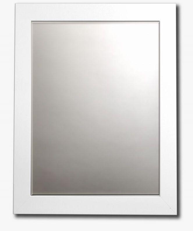Wholesale Framed Mirror in White Satin 34x28 (SKU 1856414) DollarDays