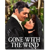 Tin Sign : Gone with the Wind - Scarlet & Rhett Wholesale Bulk