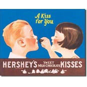 Tin Sign : Hershey's - Kiss for You
