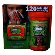 Boogie Wipes Saline Wipes 120Ct