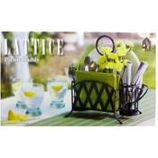 Mesa Picnic Caddy Lattice Design Wholesale Bulk