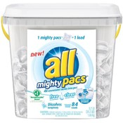 All Mighty Pacs Laundry Detergent 84 Loads