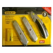 Stanley Utility Knife Set 3 Piece Wholesale Bulk