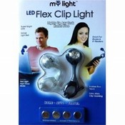 My Light LED Flex Clip Book Light 2PK