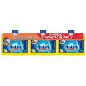 Finish Dishwasher Cleaner Citrus Fresh Scent- 3 Pk Wholesale Bulk