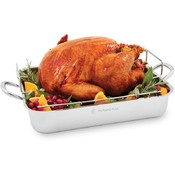 Wolfgang Puck Roaster with Rack 16.5 inch