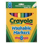 Crayola Classic Broad Line Washable Markers 8ct