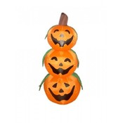 Four Foot Halloween Inflatable 3 Pumpkins